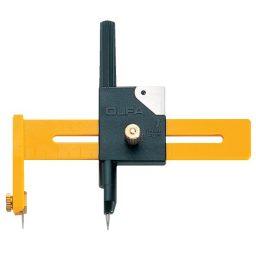 CMP-1 Compass Cutter + 6 Blades - Cuts circles 1cm to 15cm