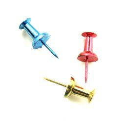 Metallic Assorted Push Pins