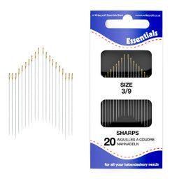 Sharps 3/9 Hand Sewing Needles