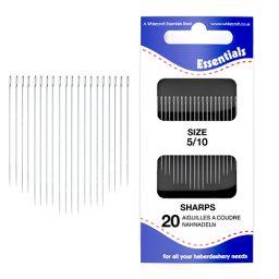 Sharps 5/10 Hand Sewing Needles