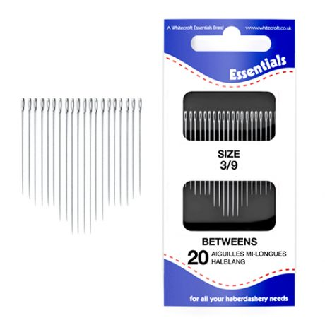 Betweens 3/9 Hand Sewing Needles