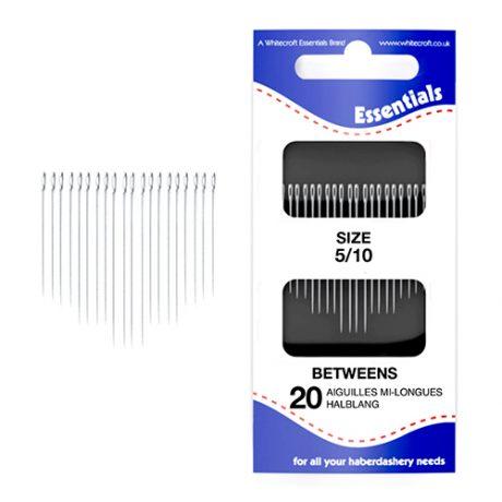 Betweens 5/10 Hand Sewing Needles