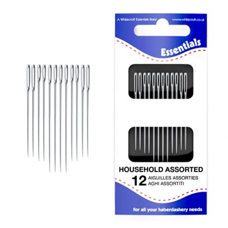 Household Assortment Hand Sewing Needles