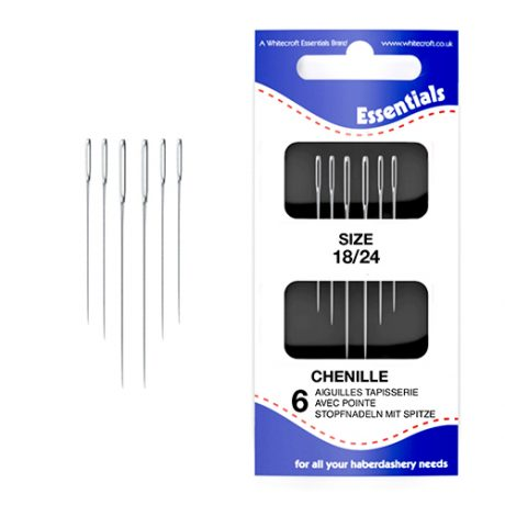 Chenille 18/24 Hand Sewing Needles
