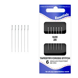 Tapestry/Cross Stitch 26 Hand Sewing Needles