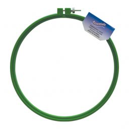 Green Plastic Embroidery Hoops - 20cm