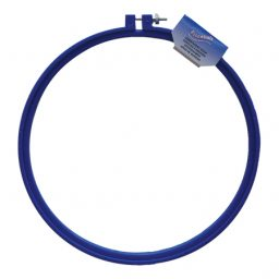 Blue Plastic Embroidery Hoops - 25cm
