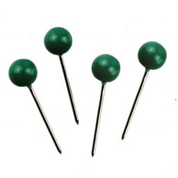 Green Map Pins - 5mm