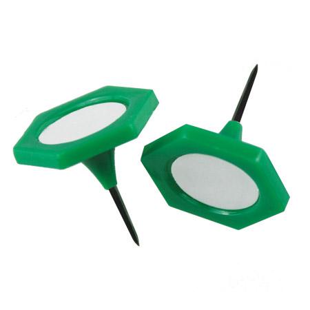 Large Green Indicator Pins - 20mm