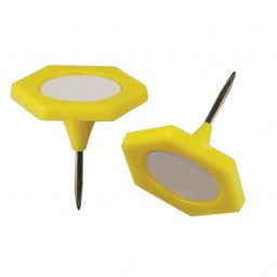Large Yellow Indicator Pins - 20mm