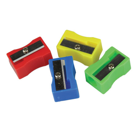 Assorted Pencil Sharpeners & Erasers
