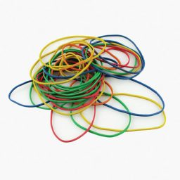 Assorted Rubber Bands - Various Sizes