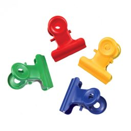 Metal Assorted Spring Clips - 22mm