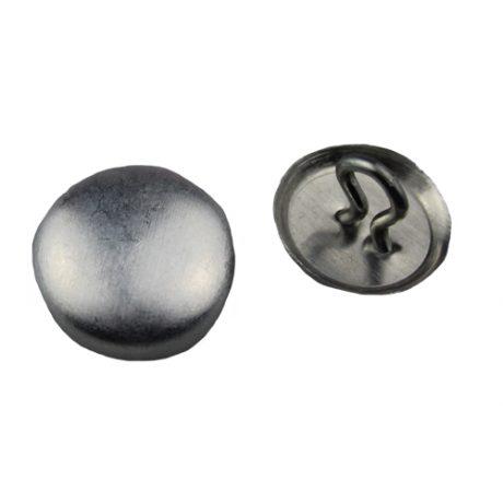 Aluminium Cover Buttons - 2mm