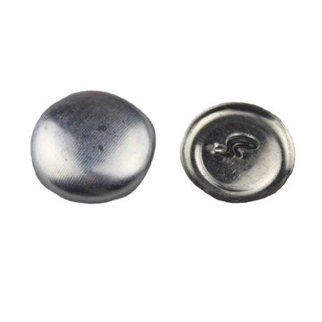 Aluminium Cover Buttons - 9mm
