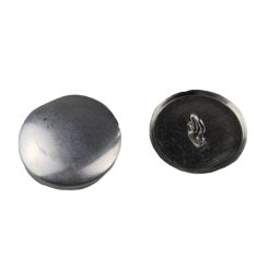 Aluminium Cover Buttons - 3mm