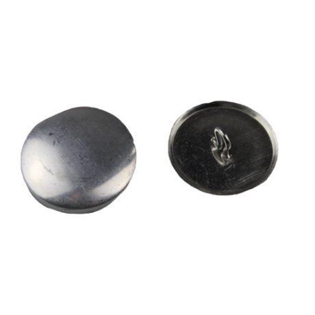 Aluminium Cover Buttons - 3mm