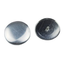Aluminium Cover Buttons - 8mm