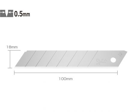 LB-10 - Knife Blades For L Series (10Pcs)