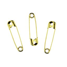 Assorted Sizes Brass Safety Pins