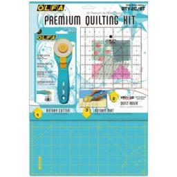 RTY-2C/STQR - Premium Quilting Kit Aqua Blue