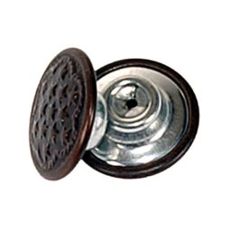 Denim Brown Oxy Tack Button