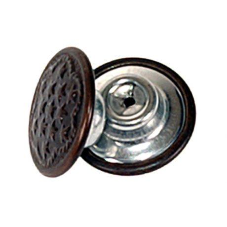 Denim Brown Oxy Tack Button