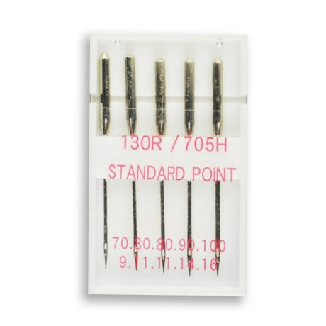 Assorted Standard Sewing Machine Needles