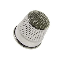 Silver Thimbles - 17.5mm