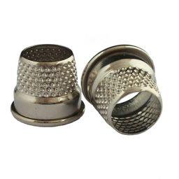 Tailors Silver Thimbles - Var Size