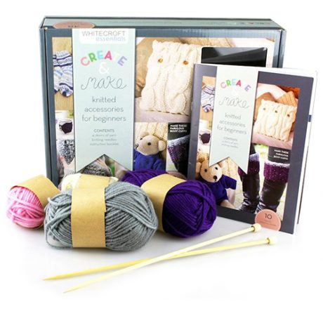 Knitted Accessories Book Kit