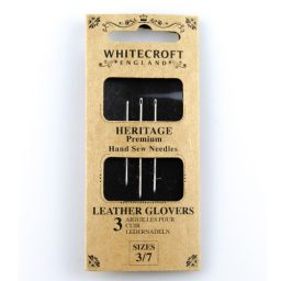 Leather / Glovers 3/7 Hand Sew Needles