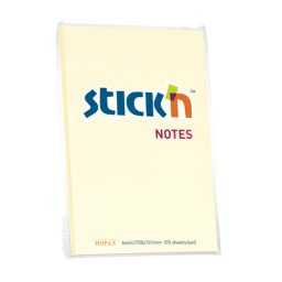 Sticky Notes 150X101Mm Yellow - 6 Pads Per Pack