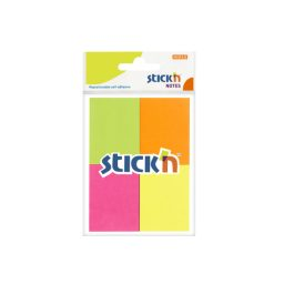 Sticky Notes 38X50 Neon - 24 Bags Per Pack