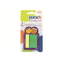 Index Clips Asst Size & Col. - 12 Cards Per Pack
