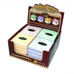 Cake Notes Display Set - 8 Cakes Per Pack