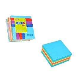 Blue Neon Mini Cube - 48 Per Pack