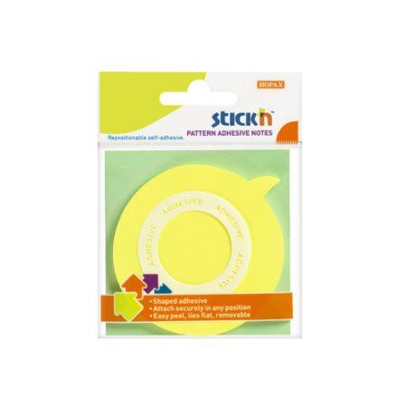 Speech Bubble Neon Yellow - 24 Pads Per Pack