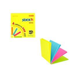 Magic Pads 76 X 76 Neon - 12 Pads Per Pack
