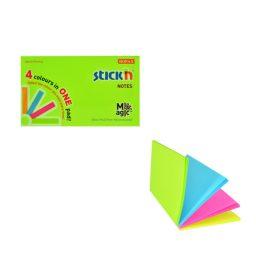Magic Pad 76 X 127 Neon - 12 Pads Per Pack