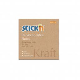 """""""Kraft"""" Pad 76Mm X 76Mm - 12 Pads Per Pack"""