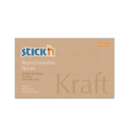 """""""Kraft"""" Pad 76Mm X 127Mm - 12 Pads Per Pack"""