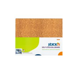 Stickyn Infoboard - Brown 58X46Cm - 10 Boards Per Pack