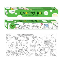 Furry Friends Colouring Roll
