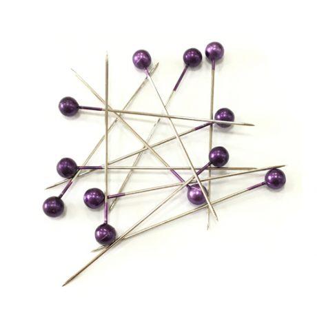 Craft Pearl Purple  - 40 x 0.58mm