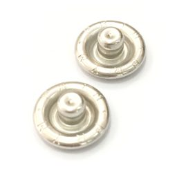 Grippers Silver Studs - 10mm