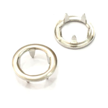 Grippers Silver Prongs - 10mm